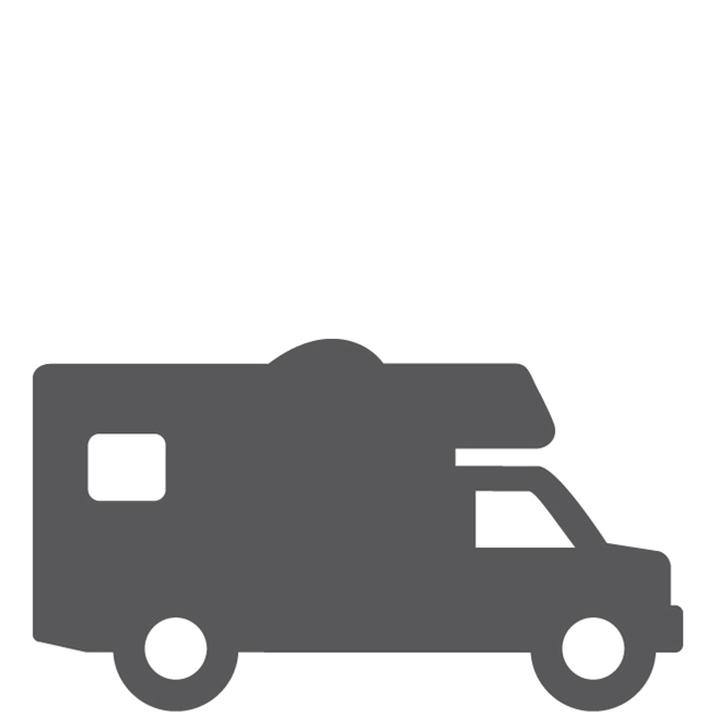 Recreational Vehicle Loans Square Icon