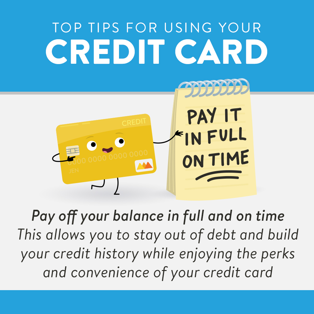 Yellow Credit Card Advising Readers to Pay Off Balances in Full