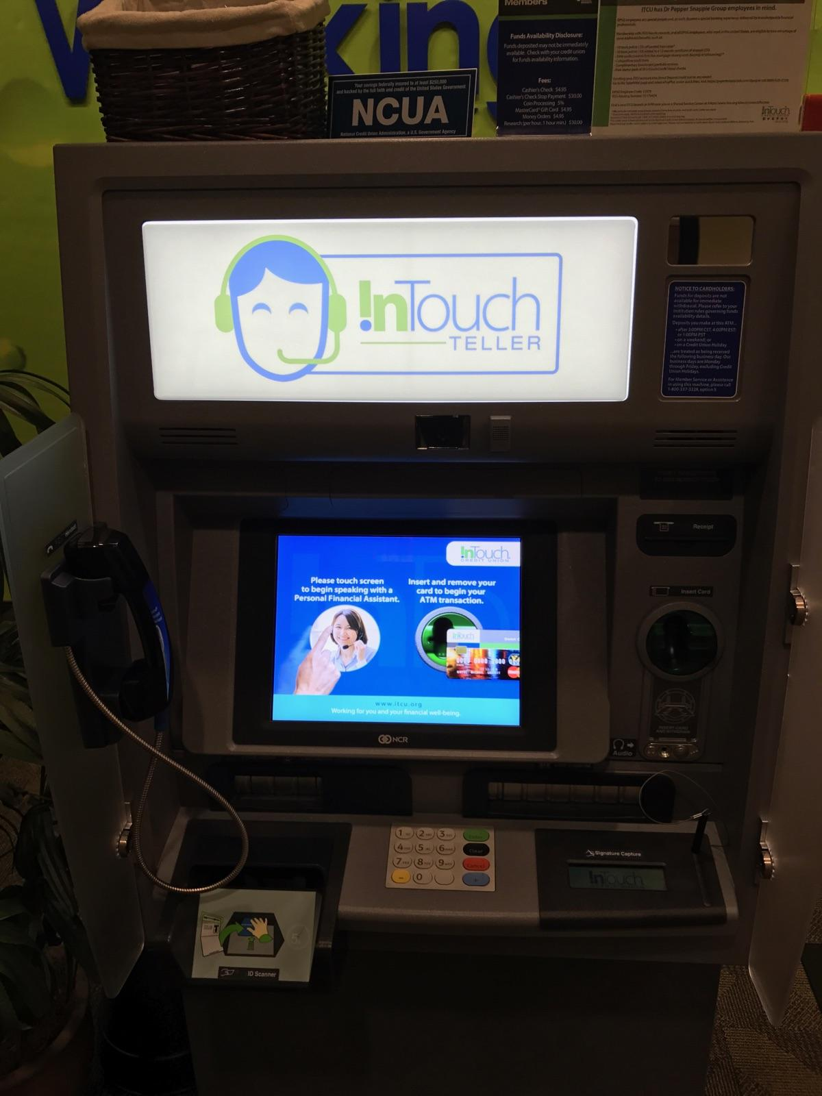 InTouch Teller ITM Display with Active Monitor