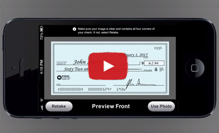 Play the Mobile Deposit Capture Video