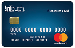 Metallic Platinum Credit Card for InTouch CU Members