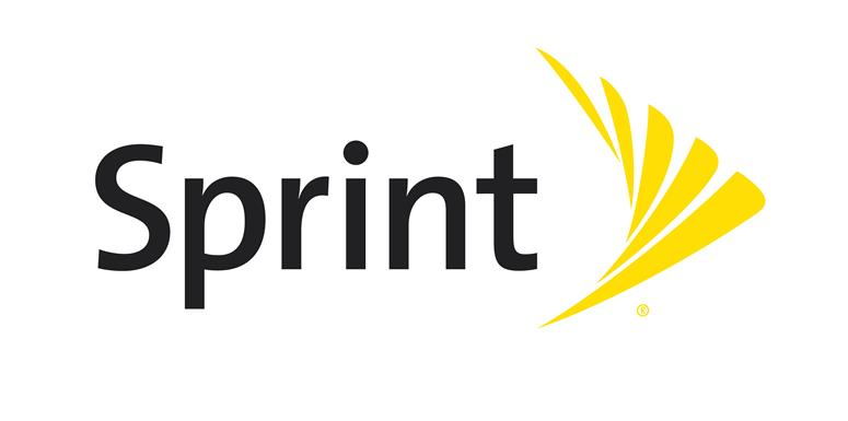 Sprint Black Fin Yellow Logo