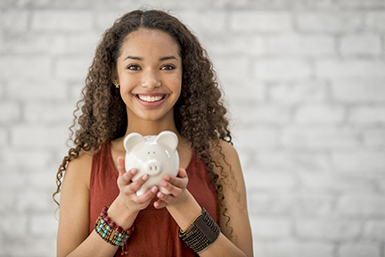Youth and young adult checking account options are available at InTouch!