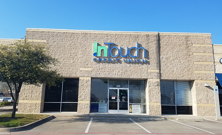 Exterior Shot of Little Elm Branch in Texas During the Day